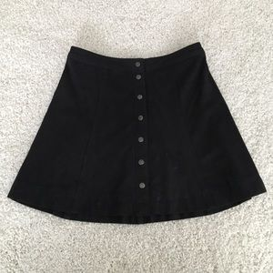 Abercrombie and Fitch Suede Skirt Size 6